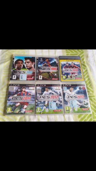 Lote 6 Juegos de PS3