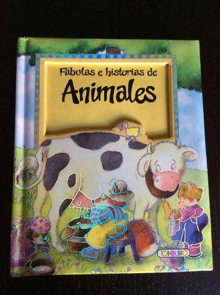 Libro infantil, fábulas de animales