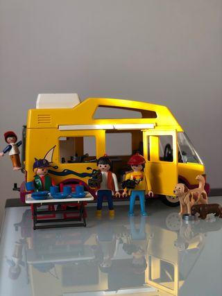 Lote Carabana + Coche + Ciclismo de Playmobil