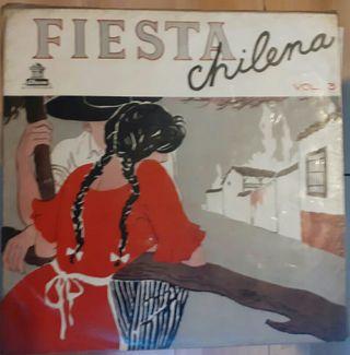 vinilo Fiesta Chilena vol. 3 - Varios Artistas
