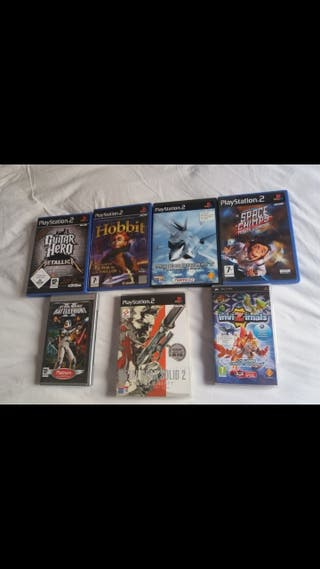 (Leer) Lote PS2 7 Cajas + 2 Mandos