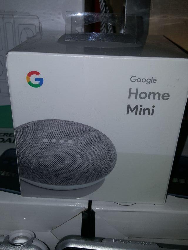 precintado Google home mini altavoz inteligente