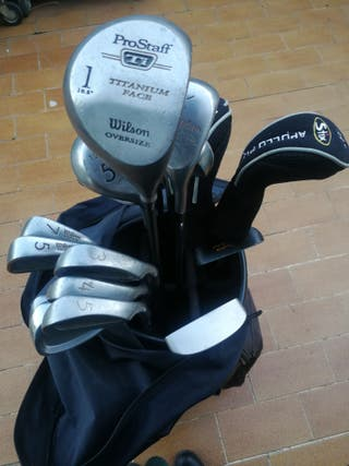 Bolsa de golf Roca y 21 palos Wilson