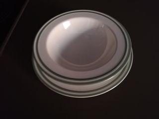Platos loza vajilla