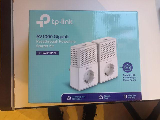 Adaptador de red PLC TP-LINK