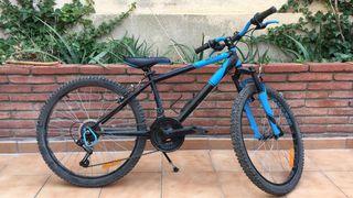 """Bicicleta rueda 24"""" y 18 velocidades"""
