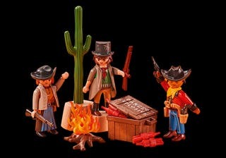 Playmobil Bandidos del Oeste 6546