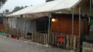Caravana Sun Roller Sevilla 470 en camping montaña
