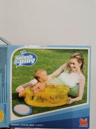 piscina inflable bebé