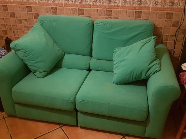 Sofá de 2 plazas separable