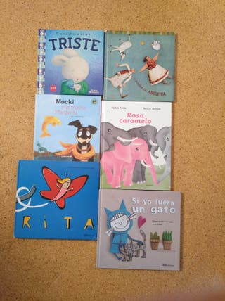 Lote libros infantiles.