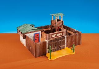 PLAYMOBIL Fuerte del Oeste 6427 + 6270