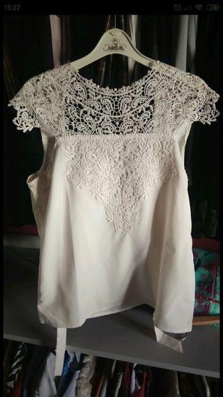 camisa blanca nueva