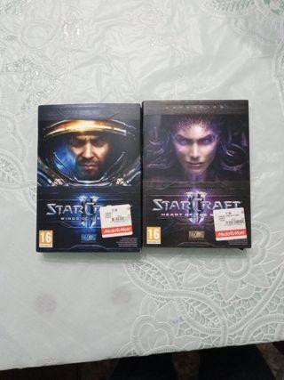 Starcraft 2 y expansión Heart of the Swarm