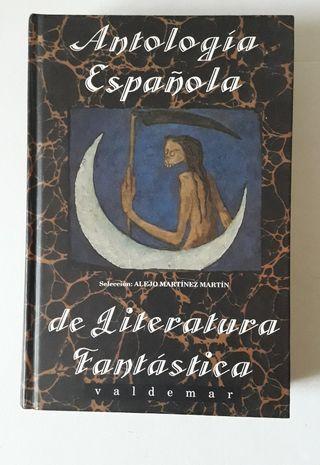 LIBRO ANTOLOGIA ESPAÑOLA DE LITERATURA FANTASTICA
