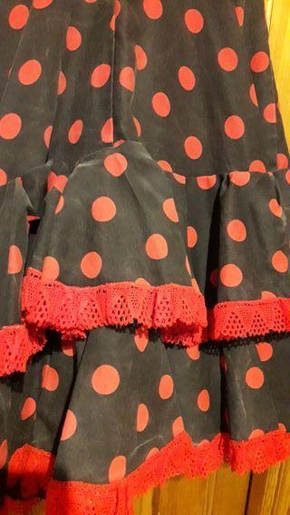 Faldas rociera.