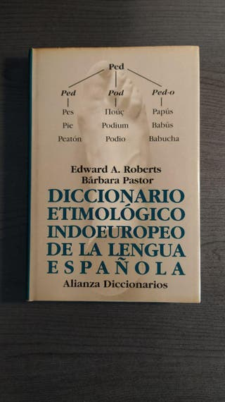 DICCIONARIO ETIMOLÓGICO INDOEUROPEO DE LA LENGUA E