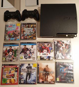 PS3 con error mandos y juegos