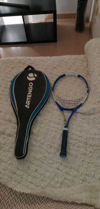raqueta de tenis más funda