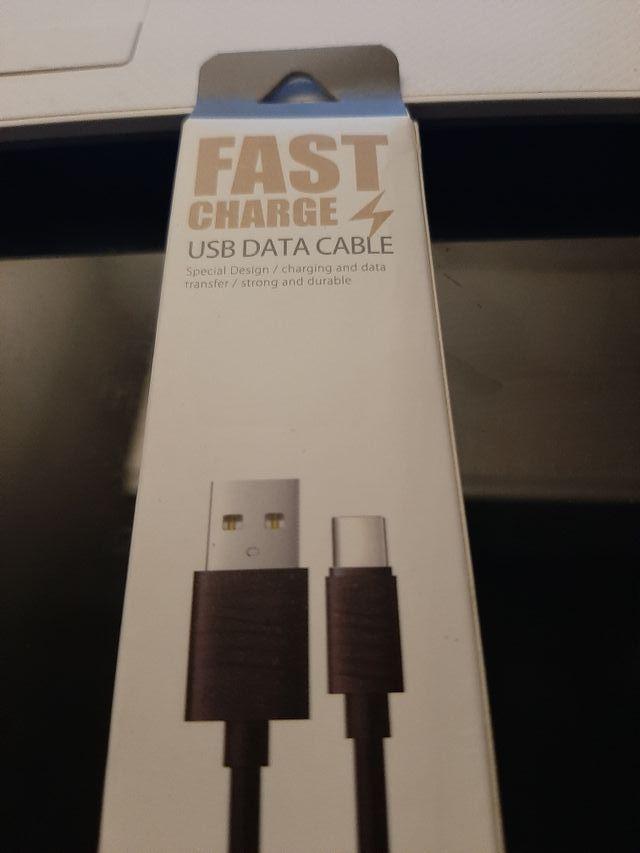 Cable 1m Cargador Type C USB. Samsung S9