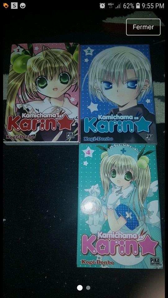Manga Kamichama Karin