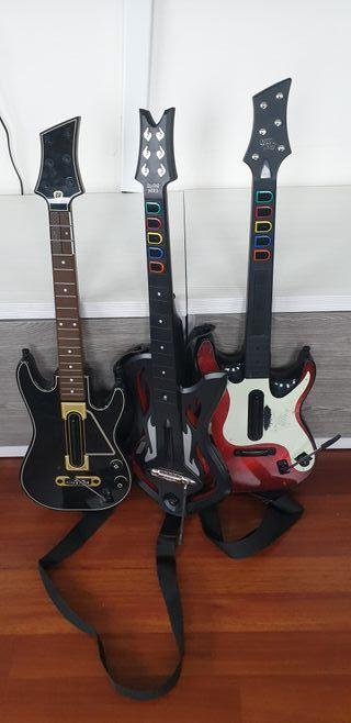 Bateria y guitarras