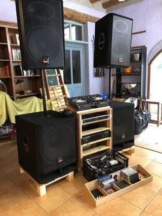 Alquiler equipo de música