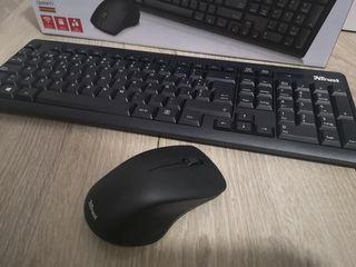 teclado y ratón wireless trust