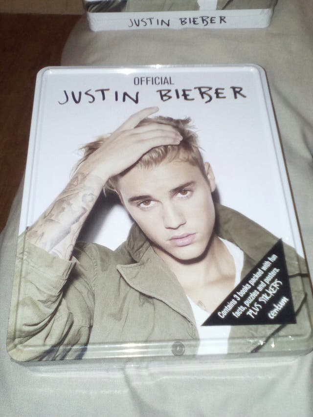 Justin Bieber Tin of Books, Centum Books,