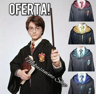 Capa Harry Potter disfraz