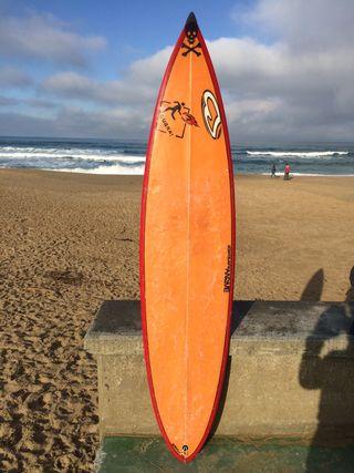 Tabla de surf Barnie 6'8