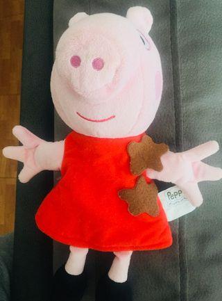 Marioneta Peppa Pig con sonido.