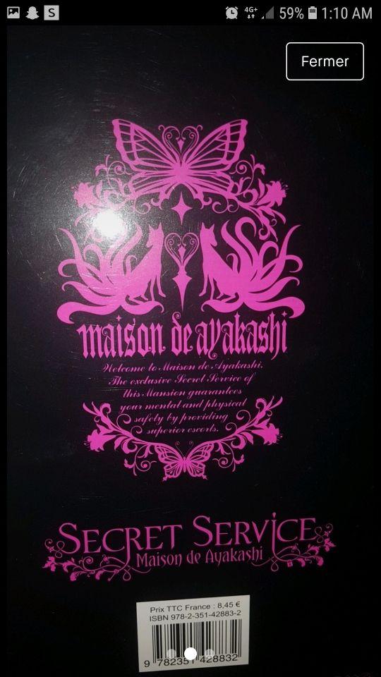 Manga secret service