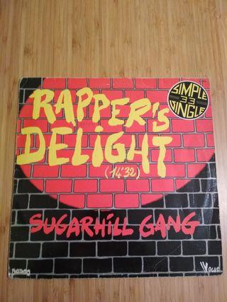 Sugarhill gang Rapper's Delight 1979 vinilo