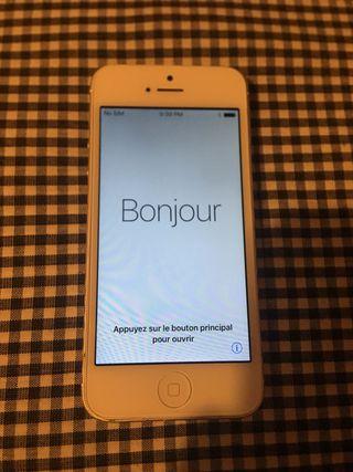 Iphone 5 de 16Gb (libre)