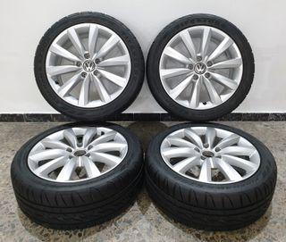 Llantas Volkswagen de 17 pulgadas + 4 neumáticos