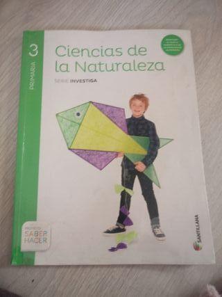 Libro de naturales de tercero de primaria