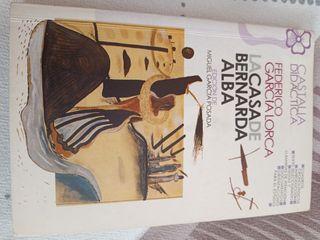 """Libro literatura """"La casa de Bernarda Alba"""""""