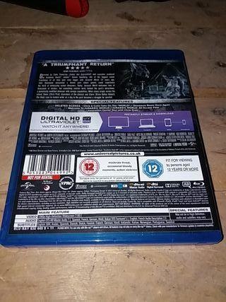 Jurassic World Blu-Ray+Digital HD Ultraviolet