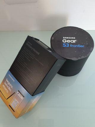 Samsung Note 8 - Samsung Gear S3 Frontier