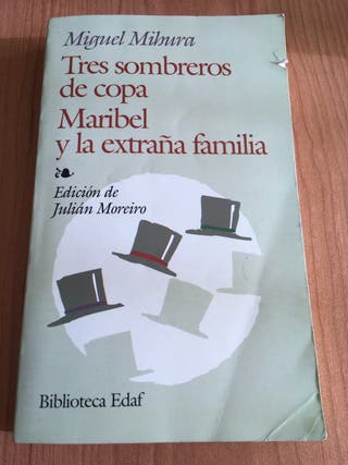 Libros Tres sombreros de copa + Maribel
