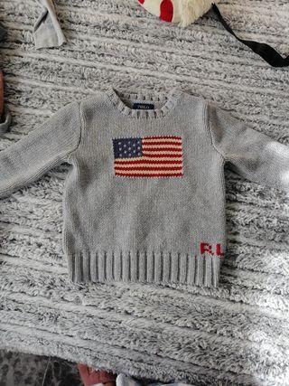 Jersey lana Ralph Lauren