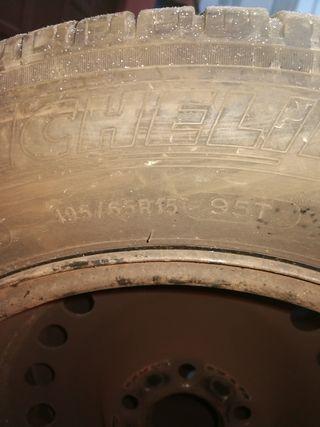 neumáticos Michelin 195 65 15. 95t