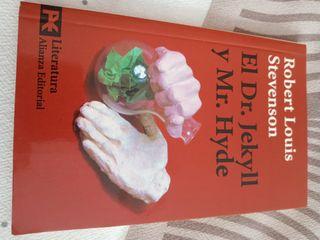 """Libro literatura """"Dr. Jekyll y mr. hide"""""""