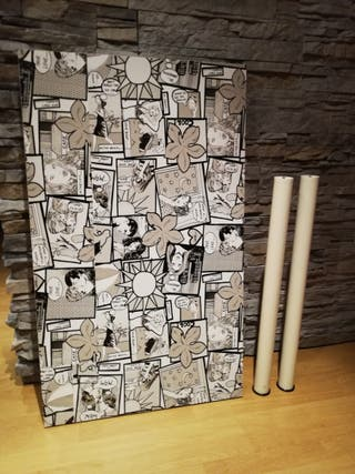 Tablero mesa linnmon ikea 100x60 cm de segunda mano por 14
