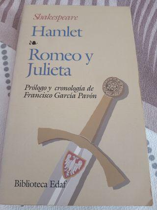 """Libro literatura """"Romeo y Julieta"""""""