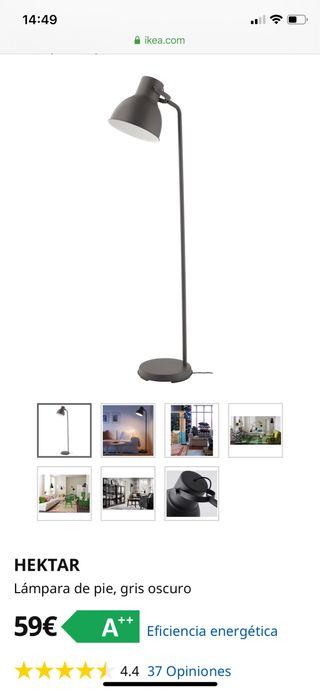 Lámpara pie IKEA