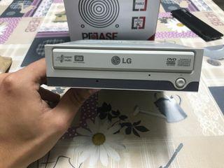 Lector, grabador de cd y dvd LG