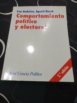 Comportamiento política y electoral