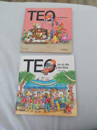 Lote de dos libros infantiles